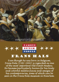 Famous Dutch People - Frans Hals