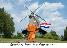 Greetings from the Netherlands - Windmill