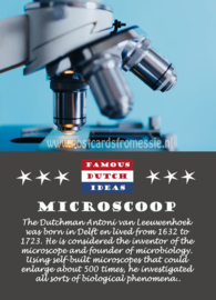 Famous Dutch Ideas - Microscoop