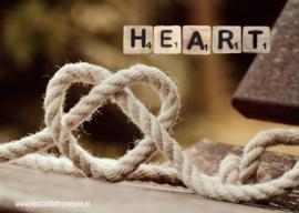 Ansichtkaart Heart