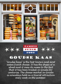 Famous Dutch Food - Goudse kaas