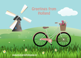 Greetings from Holland - fiets