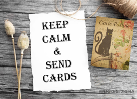 Keep calm & send cards 2