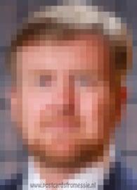Pixel art - Koning
