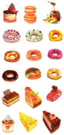 Cake stickers 3