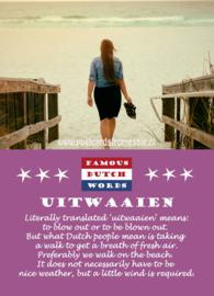 Famous Dutch Words - Uitwaaien