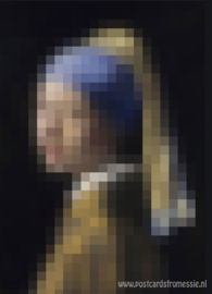 Pixel art - Meisje met de Parel