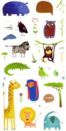 Monster stickers 4