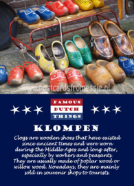 Famous Dutch Things - Klompen