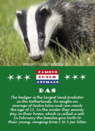 Famous Dutch Animals - Das
