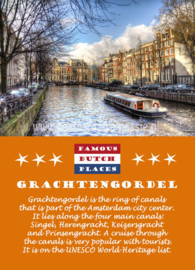 Famous Dutch Places - Grachtengordel