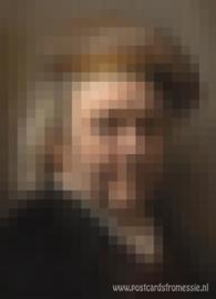Pixel art - Rembrandt