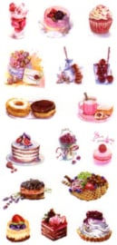 Cake stickers 6