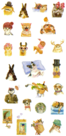 Animal stickers 6