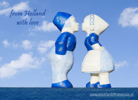 From Holland with love - Kussend paar