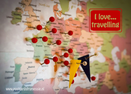 I love...travelling