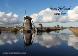 From Holland with love - Kinderdijk