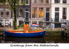 Greetings from the Netherlands - Canal