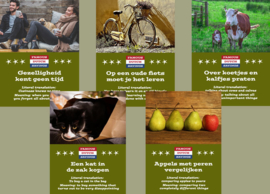 Kaartenset Famous Dutch Sayings