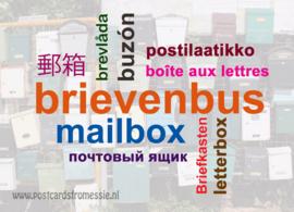 Brievenbus in 10 talen