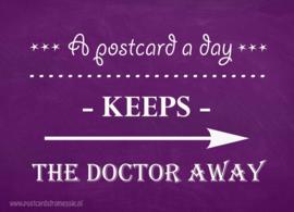 A postcard a day...