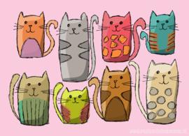 Katten doodles