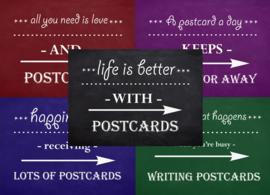 Kaartenset Postcards