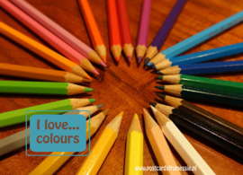 I love...colours