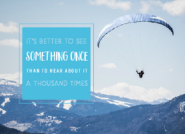 See something once