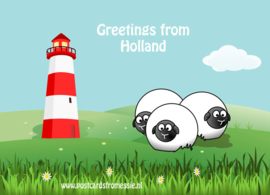 Greetings from Holland - vuurtoren