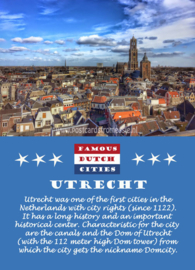 Famous Dutch Cities - Utrecht