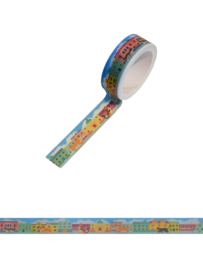Houses washi tape