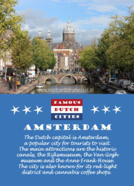 Famous Dutch Cities - Amsterdam