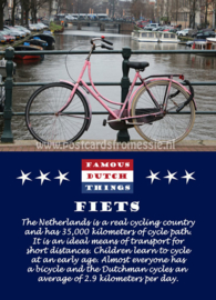 Famous Dutch Things - Fiets