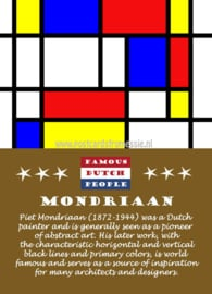 Famous Dutch People - Mondriaan