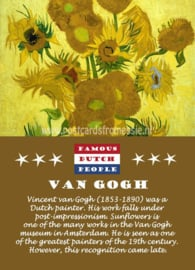 Famous Dutch People - Van Gogh