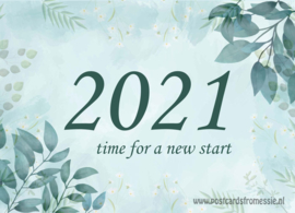 2021 - time for a new start