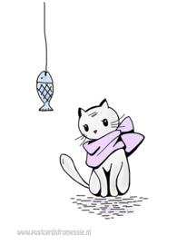 Katje wil vis