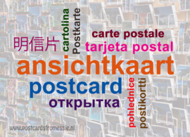 Postcard in 10 languages