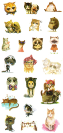 Animal stickers 1