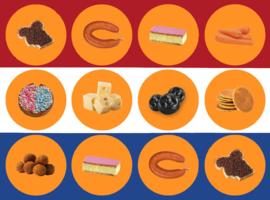 Stickervel Nederland van dichtbij