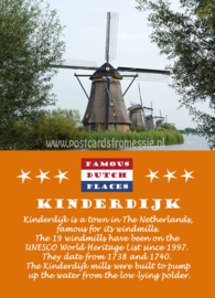 Famous Dutch Places - Kinderdijk