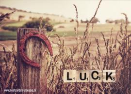 Ansichtkaart Luck
