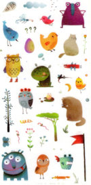 Monster stickers 3