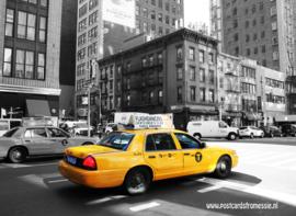 Taxi ansichtkaart