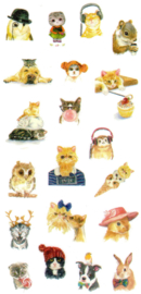 Animal stickers 2