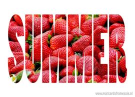Aardbeien in SUMMER