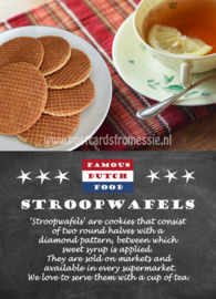 Famous Dutch Food - Stroopwafels