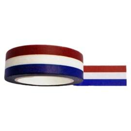 Masking tape Nederlandse vlag