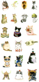 Animal stickers 3